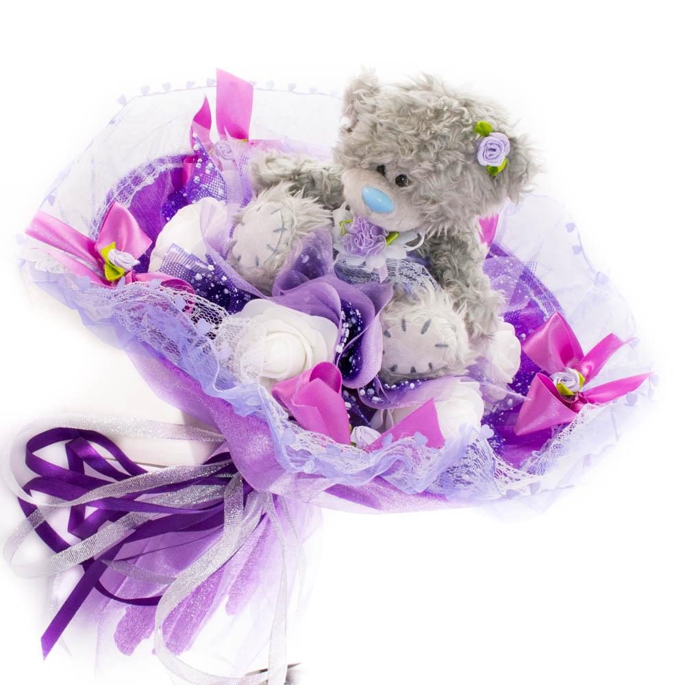 Букеты цветов из игрушек